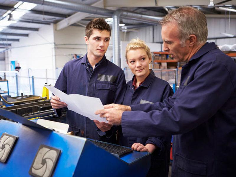 Engineer Apprentice Teaching Overalls Manual PLC Training Courses